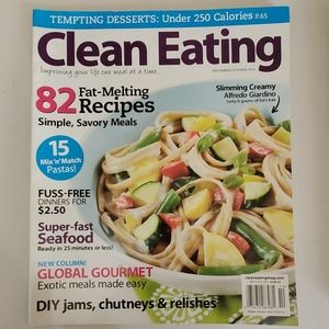 Clean Eating + 2 magazines set of 5
